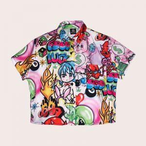 Camisa Crop SPRAY