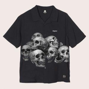 Camisa BLACK SKULLS