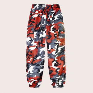 Pant Cargo ANTI-CAMO Tactical RED
