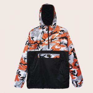 Anorak Anti-Camo RANGE ORANGE