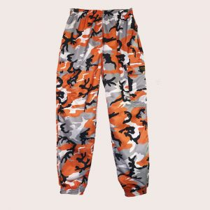 Pant Cargo ANTI-CAMO Range ORANGE