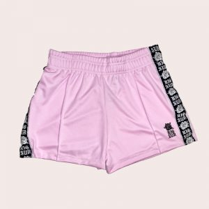 Short Black Rose Pink