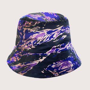 Bucket Purple Tiger