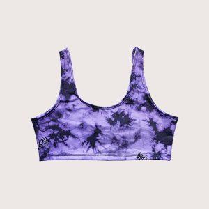 Top Sport Purple Batik
