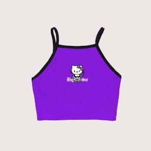 Top Hello Kinky Purple
