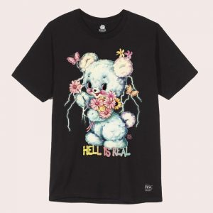 Remera Hell is Real BLACK