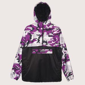Anorak Anti-Camo Purple